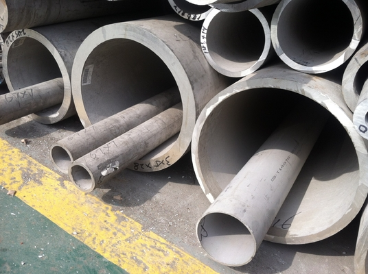 चीन ASTM A789 S32750 UNS Stainless Steel Seamless Tube Galvanized 1 - 50mm Wall Thickness आपूर्तिकर्ता
