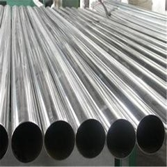 चीन Various Size 201 / 304 Grade Stainless Steel Welded Pipe Round SS Tube for Door आपूर्तिकर्ता