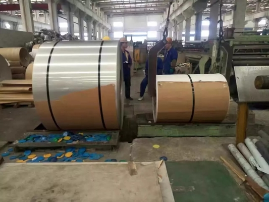चीन Hot Rolled And Cold Rolled Stainless Steel Coils 304 301 201 316L 409L 430 आपूर्तिकर्ता