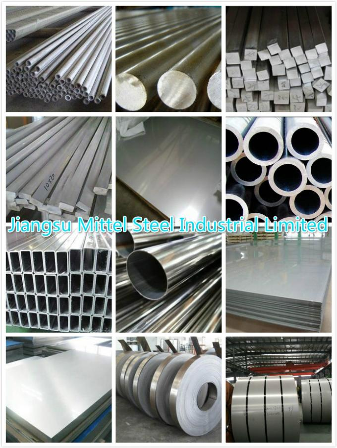310S Aisi 201 304 Stainless Steel Welded Pipe / Tube Dia 8-506mm With Best Delivery Conditions