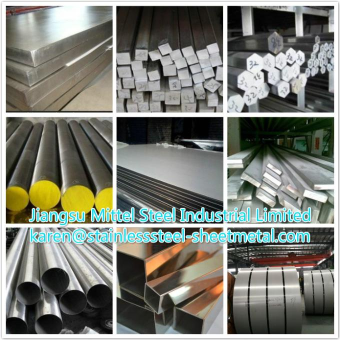 Cold Drawn 316Ti Stainless Steel Flat Bar with size 200 x 6 / 220 x 8 / 250 x 10
