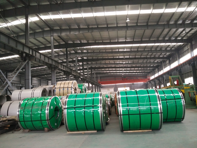 KY-C304 Grade 430 201 202 301 304 Stainless Steel Coils 0.15mm to 5mm Thickness