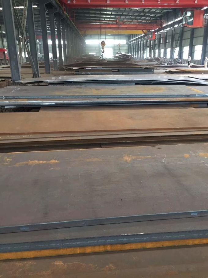 EN10025 High Strength Low Alloy 355J2+N Alloy Steel Plate 5-100MM 2000*6000