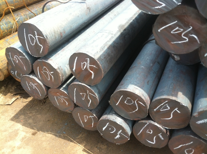 Black Pickled Carbon / Alloy Steel Round Bar For Building 6m Length